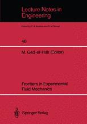 Frontiers in Experimental Fluid Mechanics