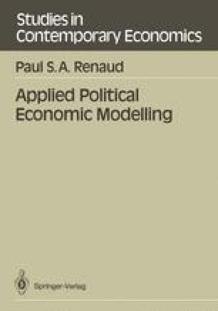 Applied Political Economic Modelling