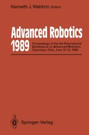 Advanced Robotics: 1989