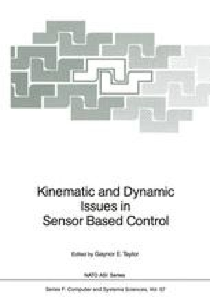 Kinematic and Dynamic Issues in Sensor Based Control