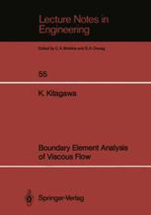 Boundary Element Analysis of Viscous Flow