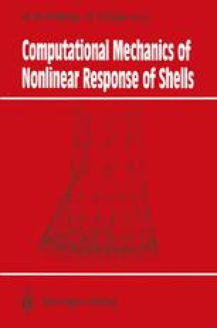 Computational Mechanics of Nonlinear Response of Shells