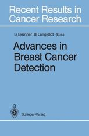 Advances in Breast Cancer Detection
