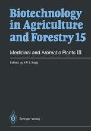Medicinal and Aromatic Plants III
