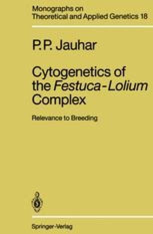 Cytogenetics of the Festuca-Lolium Complex