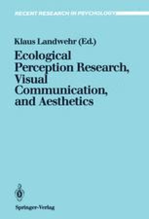 Ecological Perception Research, Visual Communication, and Aesthetics