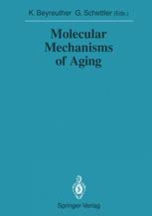 Molecular Mechanisms of Aging