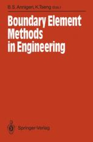 Boundary Element Methods in Engineering