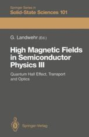 High Magnetic Fields in Semiconductor Physics III