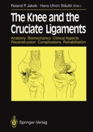 The Knee and the Cruciate Ligaments