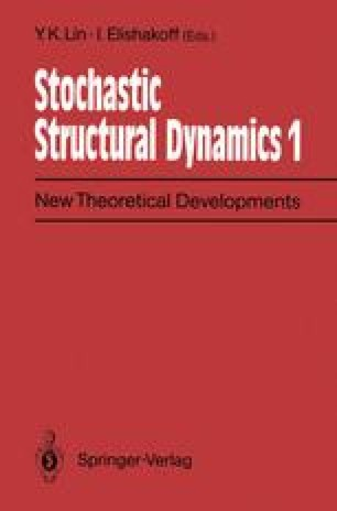 Stochastic Structural Dynamics 1