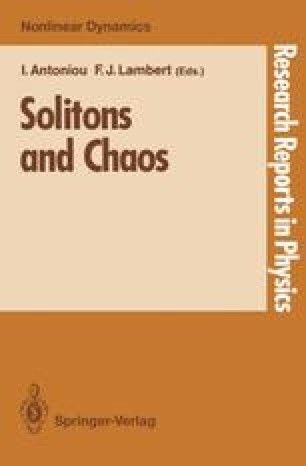 Solitons and Chaos