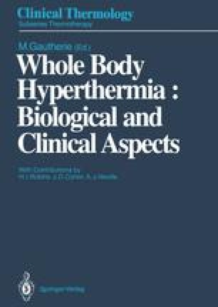 Whole Body Hyperthermia: Biological and Clinical Aspects