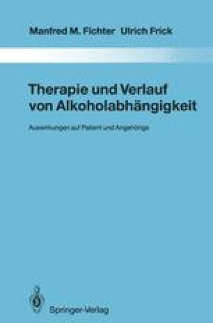 Therapie und Verlauf von Alkoholabhängigkeit