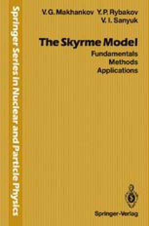 The Skyrme Model