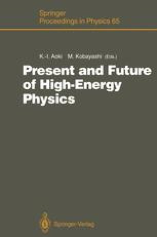 Present and Future of High-Energy Physics
