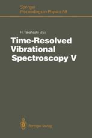 Time-Resolved Vibrational Spectroscopy V