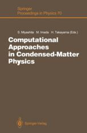 Computational Approaches in Condensed-Matter Physics