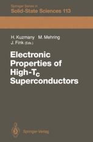 Electronic Properties of High-Tc Superconductors