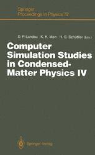 Computer Simulation Studies in Condensed-Matter Physics IV