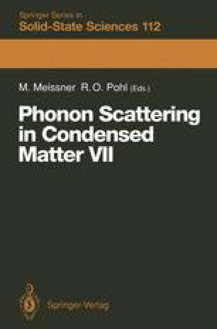 Phonon Scattering in Condensed Matter VII