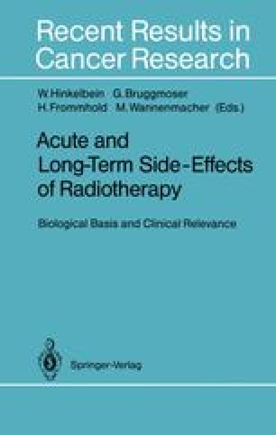 Acute and Long-Term Side-Effects of Radiotherapy