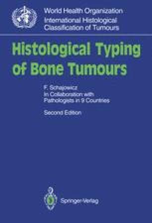 Histological Typing of Bone Tumours