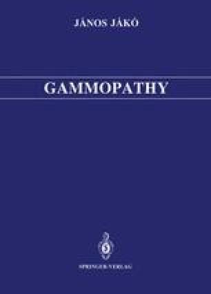 Gammopathy