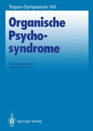Organische Psychosyndrome