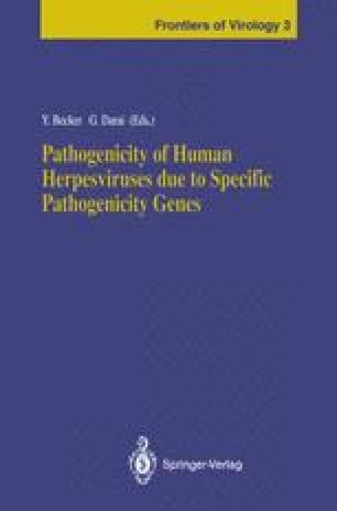 Pathogenicity of Human Herpesviruses due to Specific Pathogenicity Genes