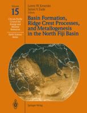 Basin Formation, Ridge Crest Processes, and Metallogenesis in the North Fiji Basin