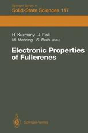 Electronic Properties of Fullerenes