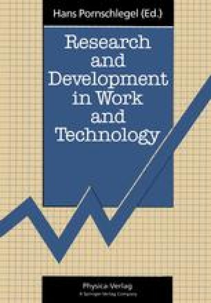 Research and Development in Work and Technology