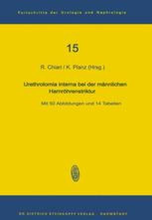 Urethrotomia interna bei der männlichen Harnröhrenstriktur
