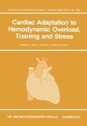 Cardiac Adaptation to Hemodynamic Overload, Training and Stress