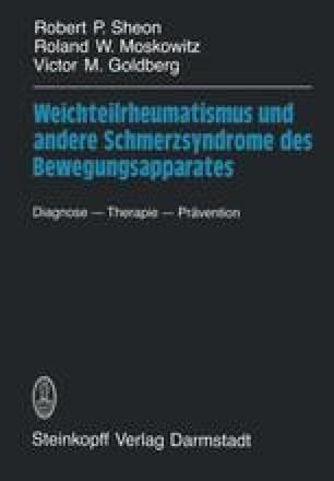 Weichteilrheumatismus und andere Schmerzsyndrome des Bewegungsapparates