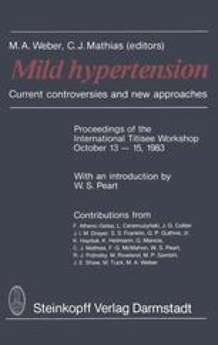 Mild Hypertension