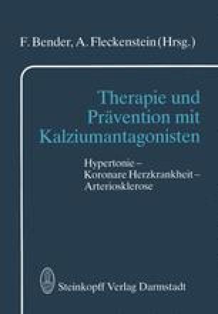 Therapie und Prävention mit Kalziumantagonisten