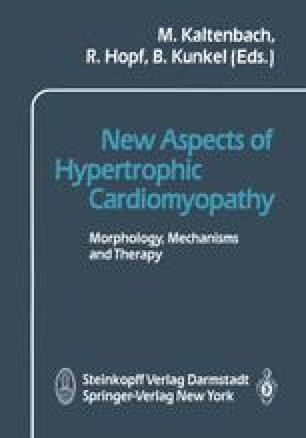 New Aspects of Hypertrophic Cardiomyopathy