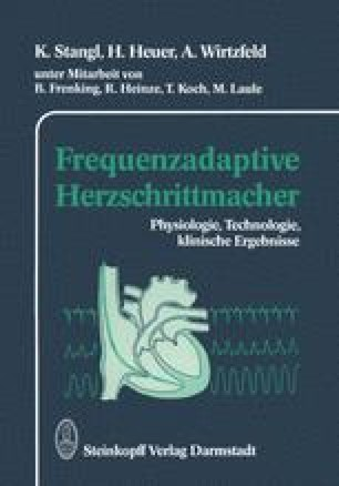 Frequenzadaptive Herzschrittmacher