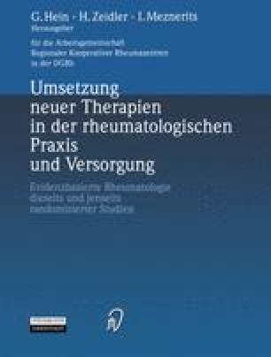 Umsetzung neuer Therapien in der rheumatologischen Praxis und Versorgung