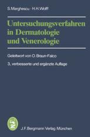 Untersuchungsverfahren in Dermatologie und Venerologie