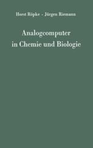 Analogcomputer in Chemie und Biologie