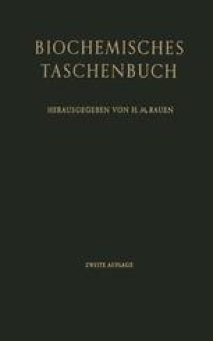 Biochemisches Taschenbuch