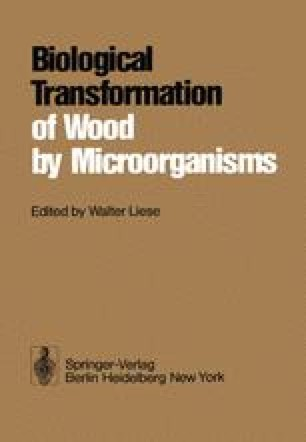 Biological Transformation of Wood by Microorganisms
