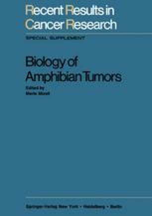 Biology of Amphibian Tumors