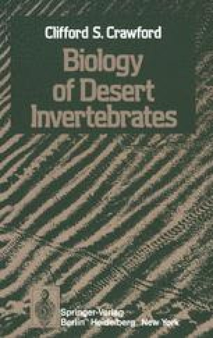 Biology of Desert Invertebrates