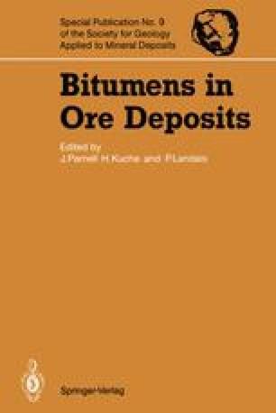 Bitumens in Ore Deposits