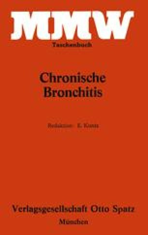 Chronische Bronchitis
