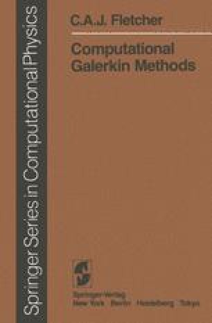 Computational Galerkin Methods